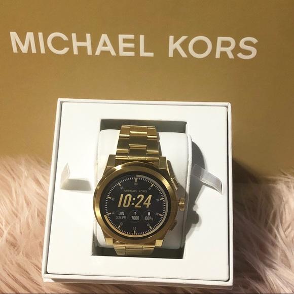 47a45099f142 Michael kors Grayson gold tone Smartwatch